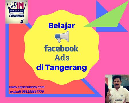 Belajar Facebook Ads di Tangerang