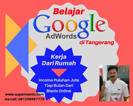 Belajar Google AdWords di Tangerang