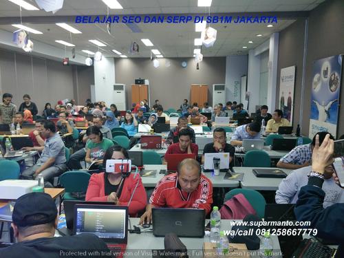 Belajar SEO dan SERP di SB1M