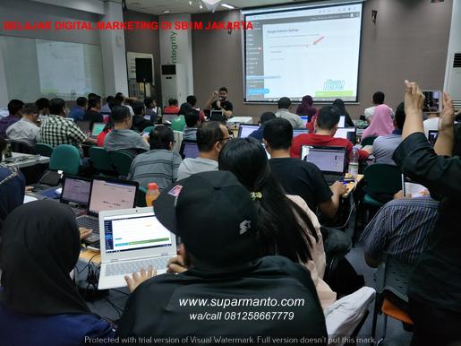 Belajar Digital Marketing di Jakarta