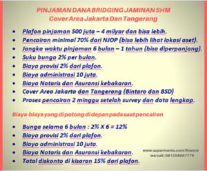 Pinjaman Dana Bridging Di Pondok Indah