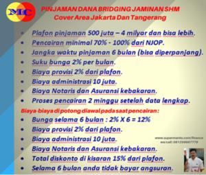 Pinjaman Dana Bridging di Jakarta Barat