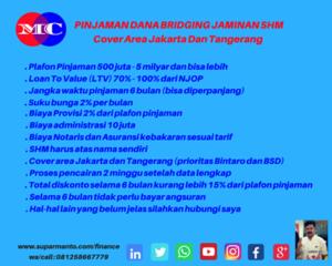 Dana Bridging Diskonto Murah di Jakarta