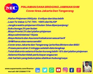Dana Bridging Bunga Rendah di Jakarta
