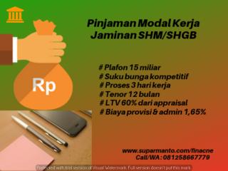 PRK Pinjaman Rekening Koran