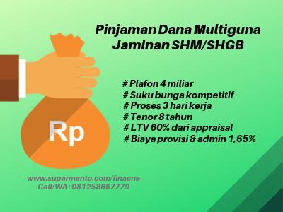 Gadai SHM Plafon 4M