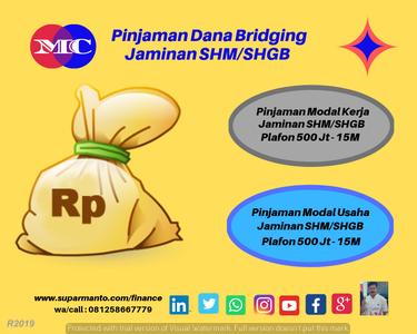 Dana Bridging Jaminan Invoice Dan SHM