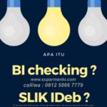 Cara Membersihkan BI Checking Dengan Mudah