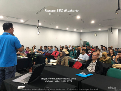 Kursus Private SEO di Bintaro